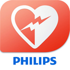 Download the Philips HeartStart app