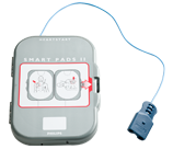 Philips HeartStart FRx AED SMART II defibrillatie-elektroden in cassette pre-connectable